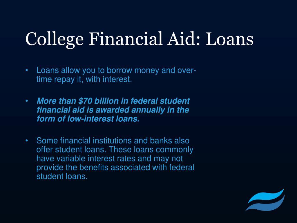 College Financial Aid: Loans