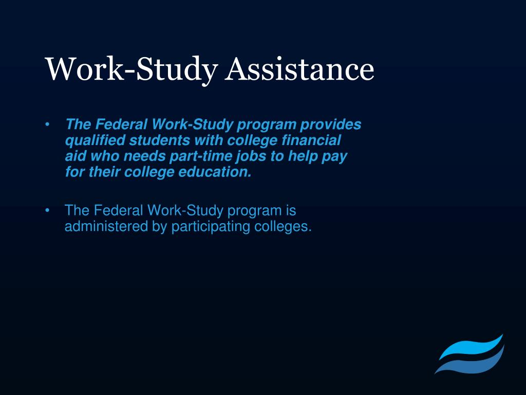 Work-Study Assistance