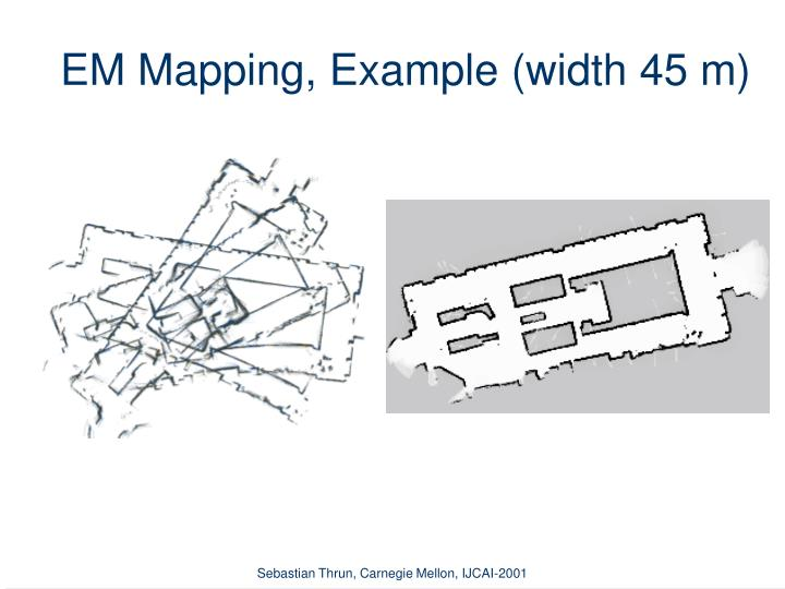 EM Mapping, Example (width 45 m)