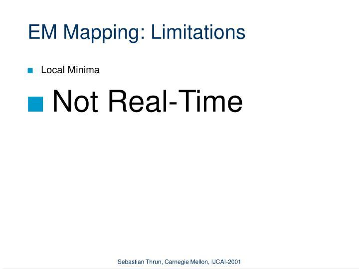 EM Mapping: Limitations