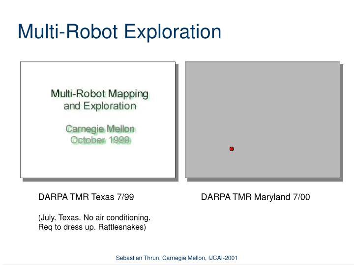 Multi-Robot Exploration