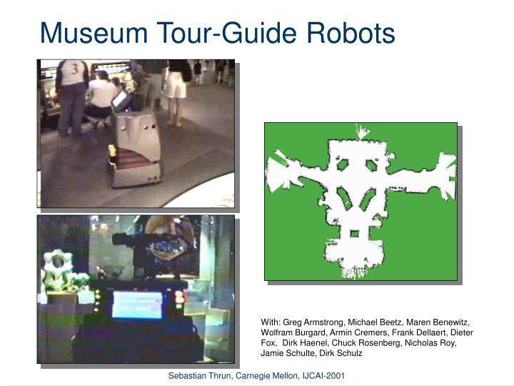 Museum Tour-Guide Robots