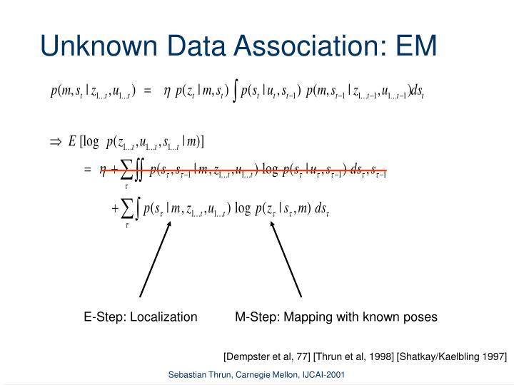 E-Step: Localization