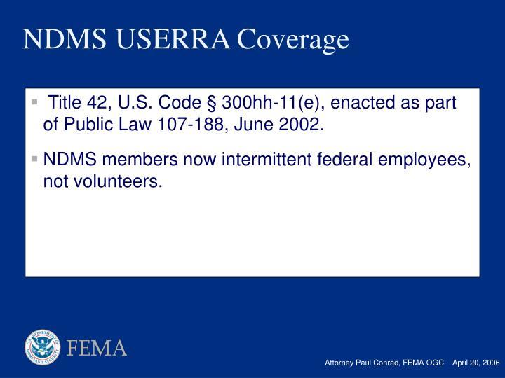 Title 42, U.S. Code