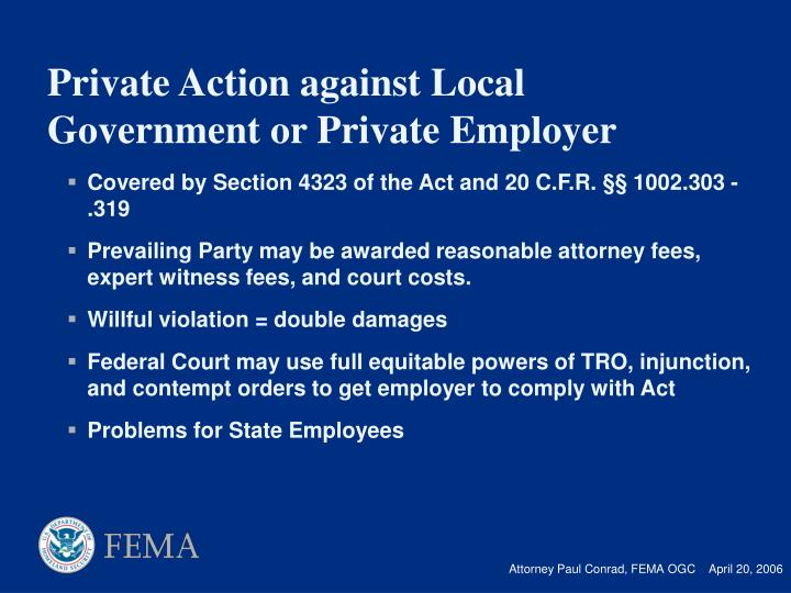 Covered by Section 4323 of the Act and 20 C.F.R.