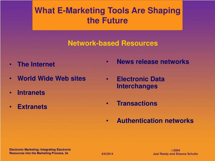 What E-Marketing Tools Are Shaping the Future