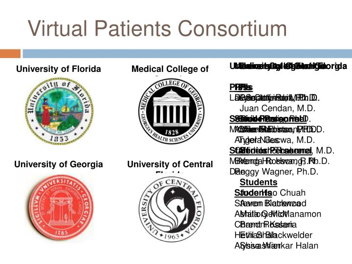 Virtual Patients Consortium