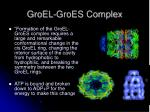 groel groes complex