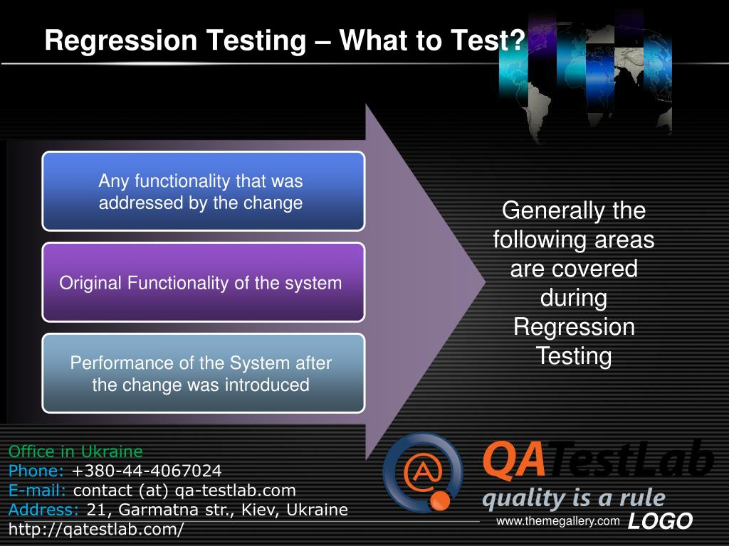 Regression Testing – What to Test?