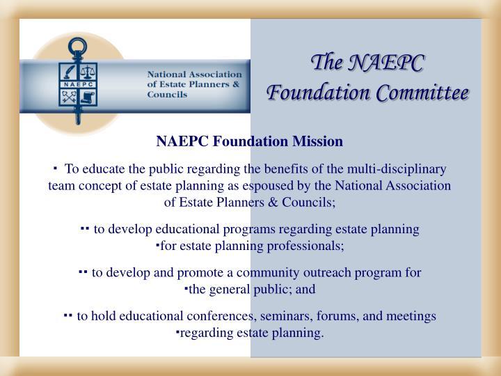 The NAEPC
