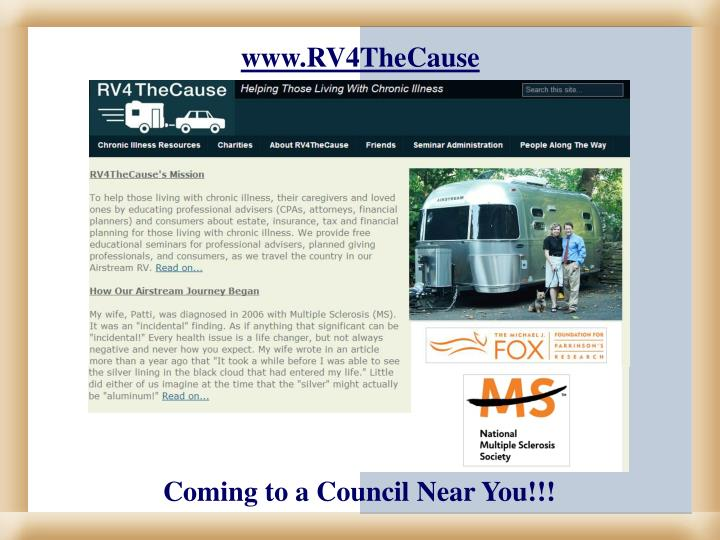 www.RV4TheCause