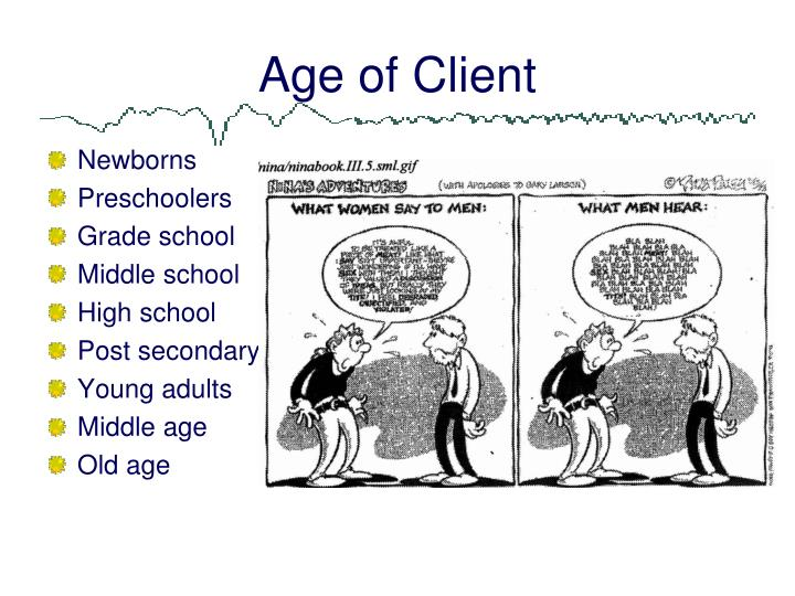 Age of Client