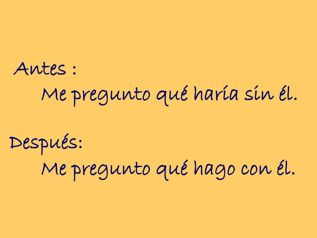 Antes :