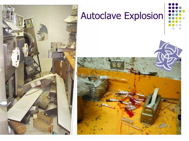 Autoclave Explosion
