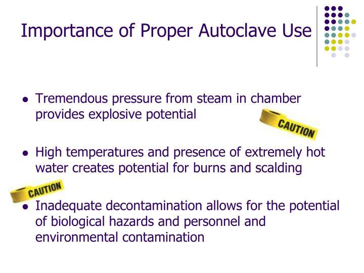 Importance of Proper Autoclave Use