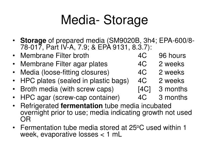 Media- Storage