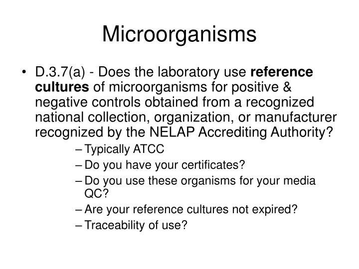Microorganisms