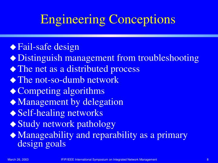 Engineering Conceptions