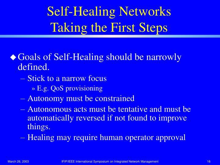 Self-Healing Networks