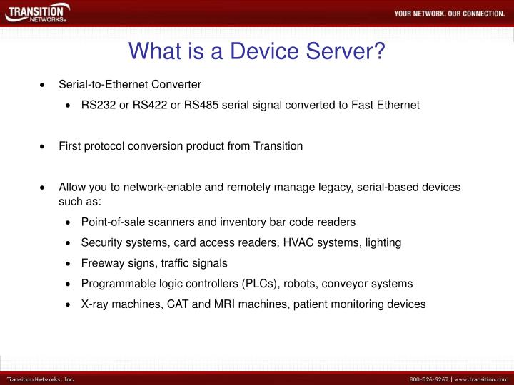 What is a Device Server?
