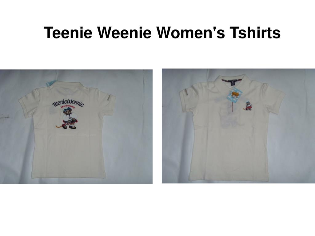 Teenie Weenie Women's Tshirts