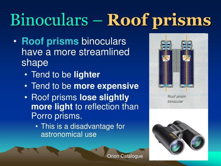 Binoculars –