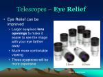 telescopes eye relief2