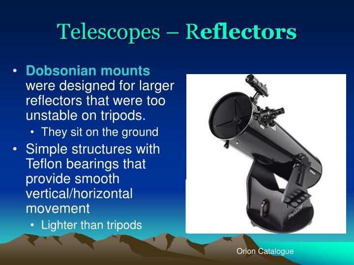 Telescopes – R