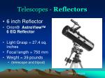 telescopes reflectors2