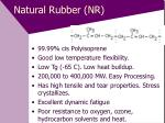 natural rubber nr