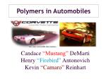 polymers in automobiles