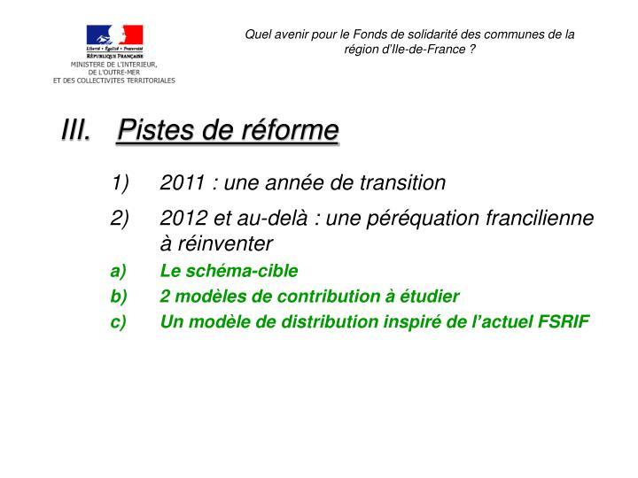 Quel avenir pour le Fonds de solidarité des communes de la région d'Ile-de-France ?