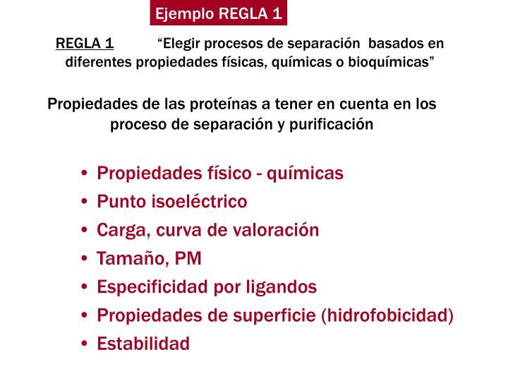 Ejemplo REGLA 1