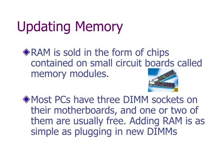 Updating Memory