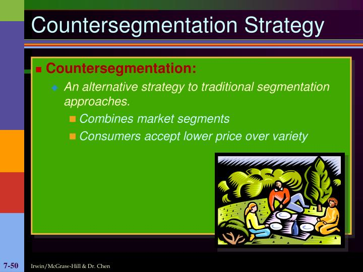 Countersegmentation Strategy