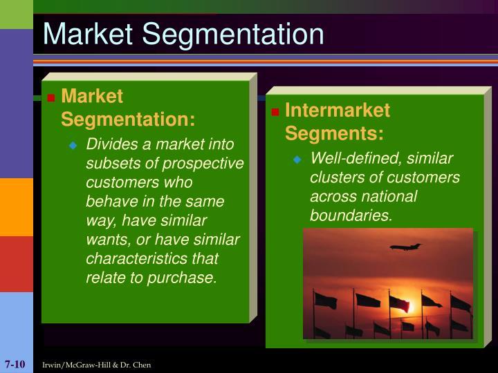Market Segmentation: