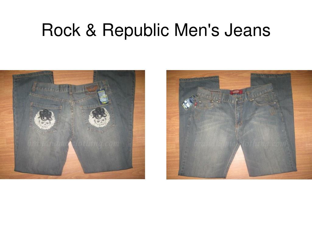 Rock & Republic Men's Jeans
