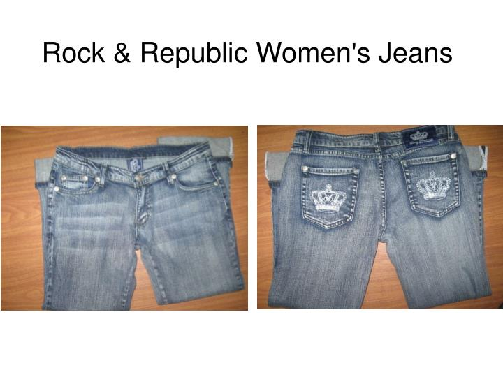 Rock republic women s jeans