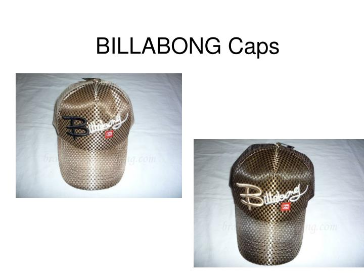 Billabong caps
