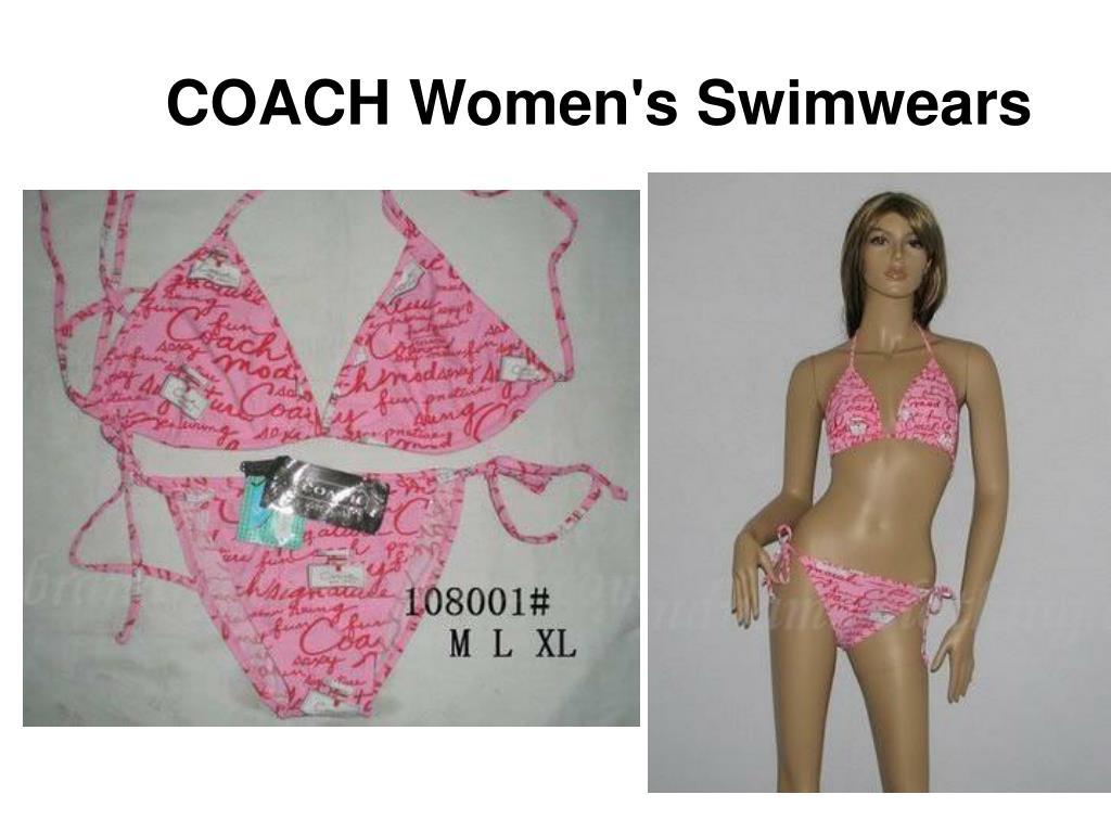 COACH Women's Swimwears