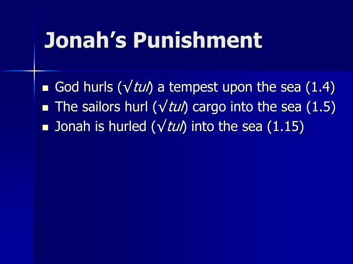 Jonah's Punishment
