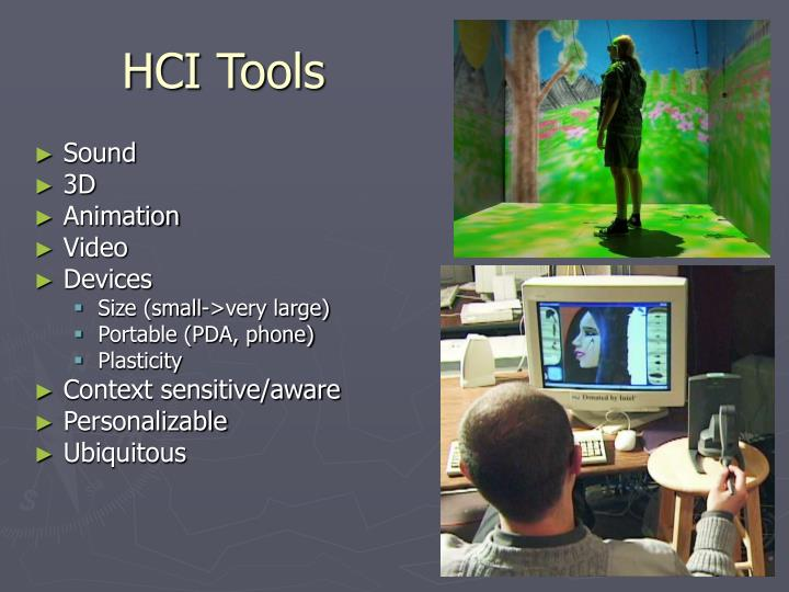 HCI Tools