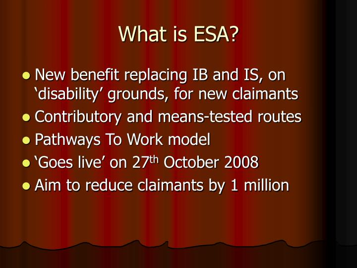 What is esa
