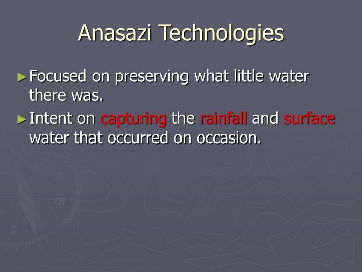 Anasazi Technologies