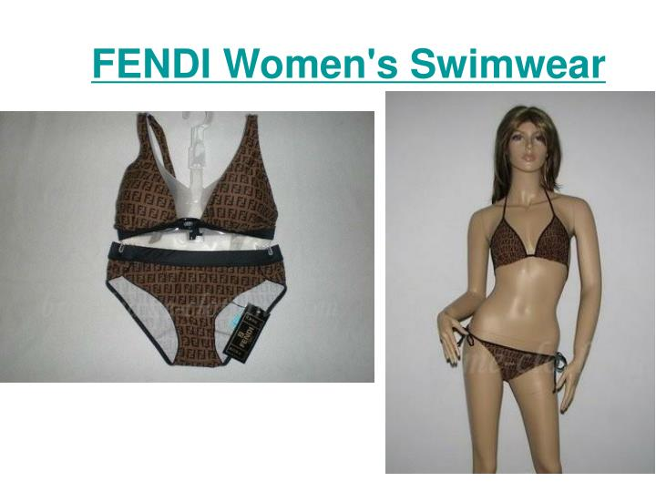 Fendi women s swimwear