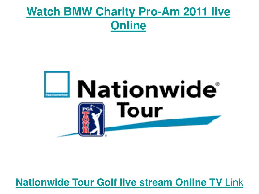 Watch BMW Charity Pro-Am 2011 live Online
