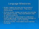 language milestones1