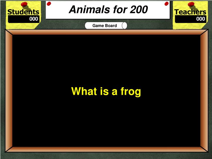 Animals for 200
