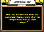 animals for 300