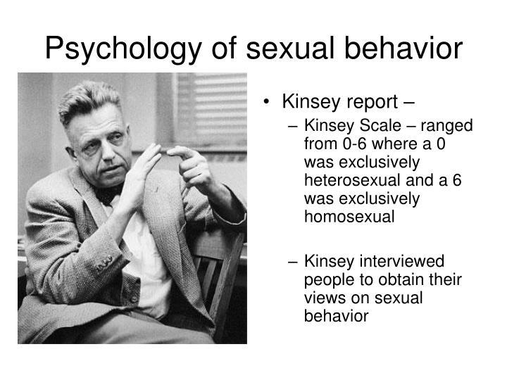 Kinsey report –
